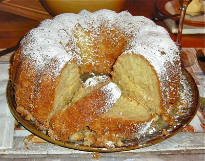 OMG! Coconut Pound Cake