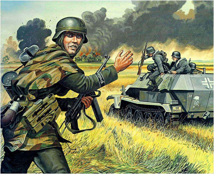 wehrmacht panzergrenadier della divisione delite