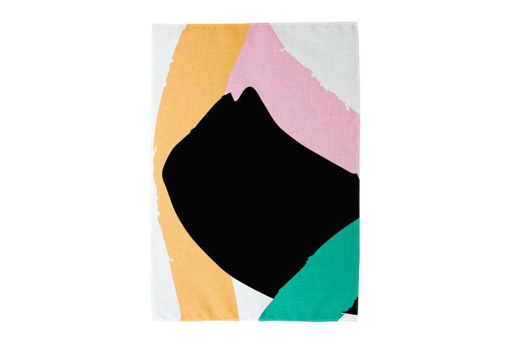 Mosey Me Abstract Tea Towel
