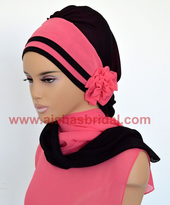 Ready To Wear Hijab  Code: HT-0232 Hijab Muslim by HAZIRTURBAN