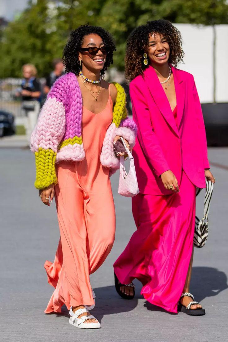 Street Style Trends, Street Style Looks, Uk Fashion, Fashion Editor, Fashion Trends, Fashion Jewelry, Tie Dye, Glamour Uk, Vogue