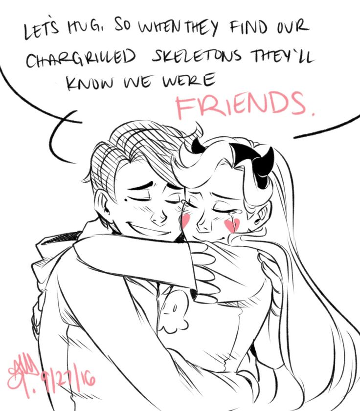 If I saw two skeletons hugging like them I would... - AtomicMangos