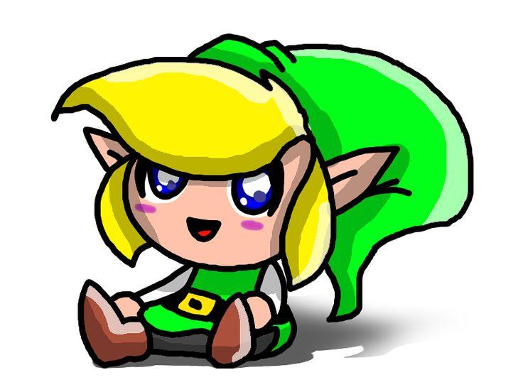 Chibi Link! by ~SparkusThunderbolt on deviantART