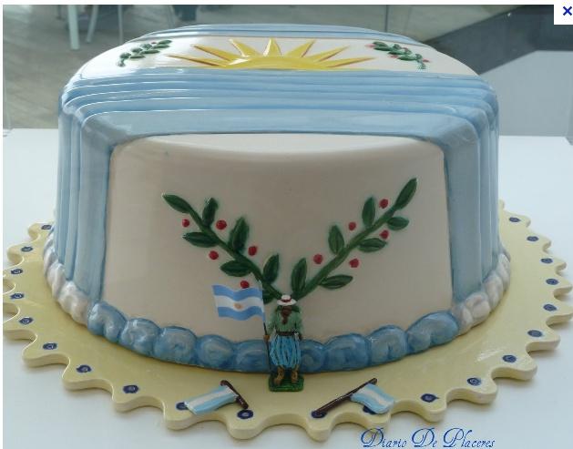 "Torta Muestra ""Patria Petrona"" de Alfredo Arias"