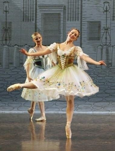 Izabela Sokolowska in Paquita. Beautiful embroidery on the skirt!