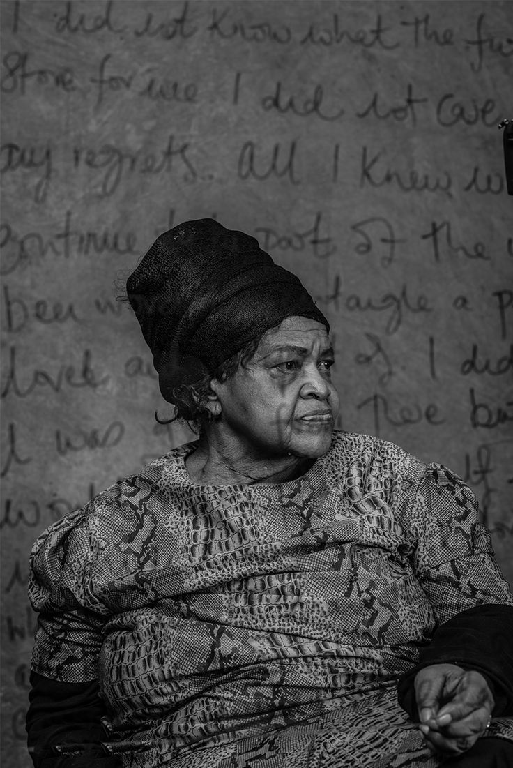 Miriam Tlali 'Her Story' by Adrian Steirn