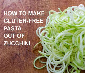 Zucchini is a quick and easy gluten-free, grain-free, paleo pasta alternative.