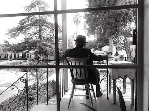 Dominique Issermann's Last Photo Of Leonard Cohen – Sept 2016 at his Los Angeles Home