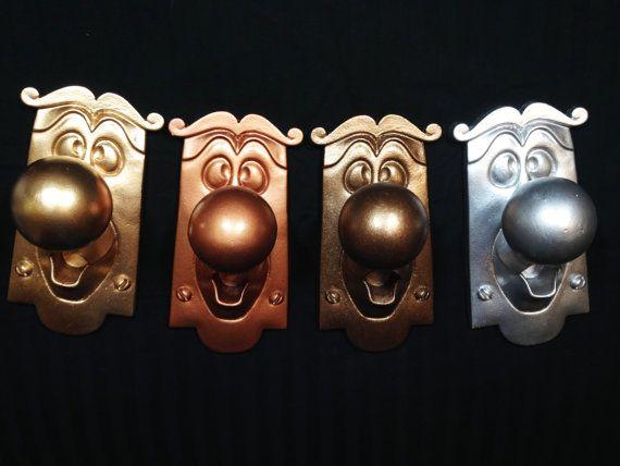 WANT! Alice in Wonderland Doorknob Disney prop 100 resin by HymnAndHurse, $55.00