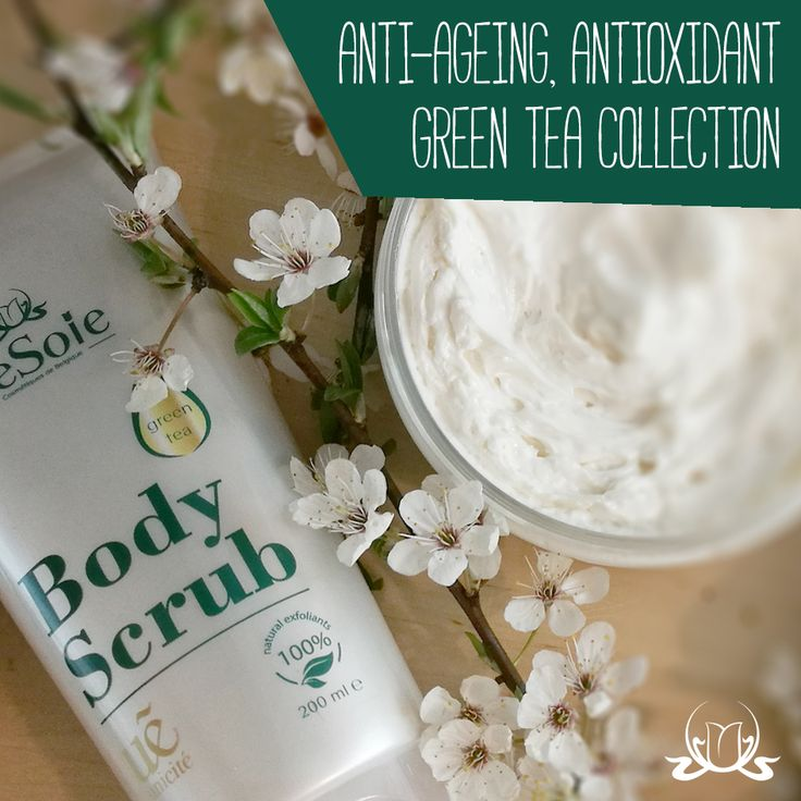 """Skin is an organ that communicates with the world, starting with its reaction to changing ambient temperatures, to the state of our health, which is """"written down"""" on our skin.   Take care of yourself, not only for vanity, but above all to maintain long good #health.   Meet our #GreenTea collection. It seems like there is no limit to the number of benefits it provides, and since green #tea is so full of them it the best bang for your buck as far as anti-ageing goes. Several factors of ageing…"""