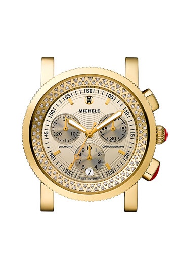 MICHELE 'Sport Sail' Diamond Watch Case available at #Nordstrom #onedayCustomizable Watches, Diamonds Watches, Shinee Diamonds, Michele Sports, Watches Cases, High Shinee, Michele Watches, Diamond Watches, Sports Sailing
