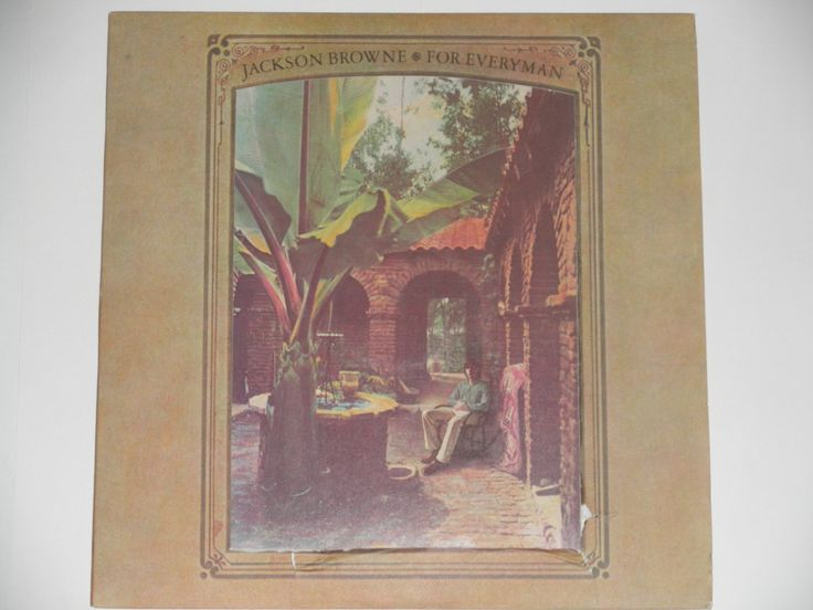 "Jackson Browne - For Everyman - ""These Days"" - ""Take It Easy"" - Asylum Records 1963 - Vintage Vinyl LP Record Album"