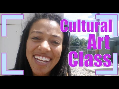 Cultural Art From Around The World Children's Class #SSSVEDA Aug 2016 Day 2