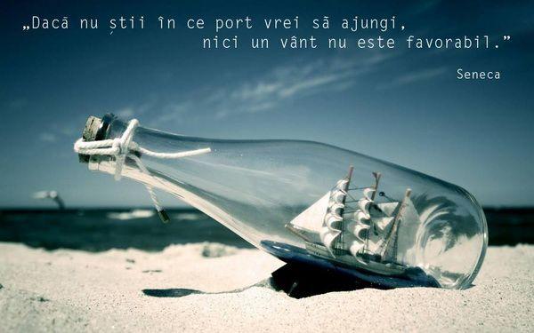 """""""Daca nu stii in ce port vrei sa ajungi nici un vant nu este favorabil."""" #CitatImagine de Seneca Iti place acest #citat? ♥Distribuie♥ mai de..."""