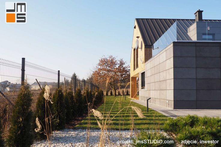 Realizacja nowoczesnego projektu budynku domu jednorodzinnego w Krakowie - JMS