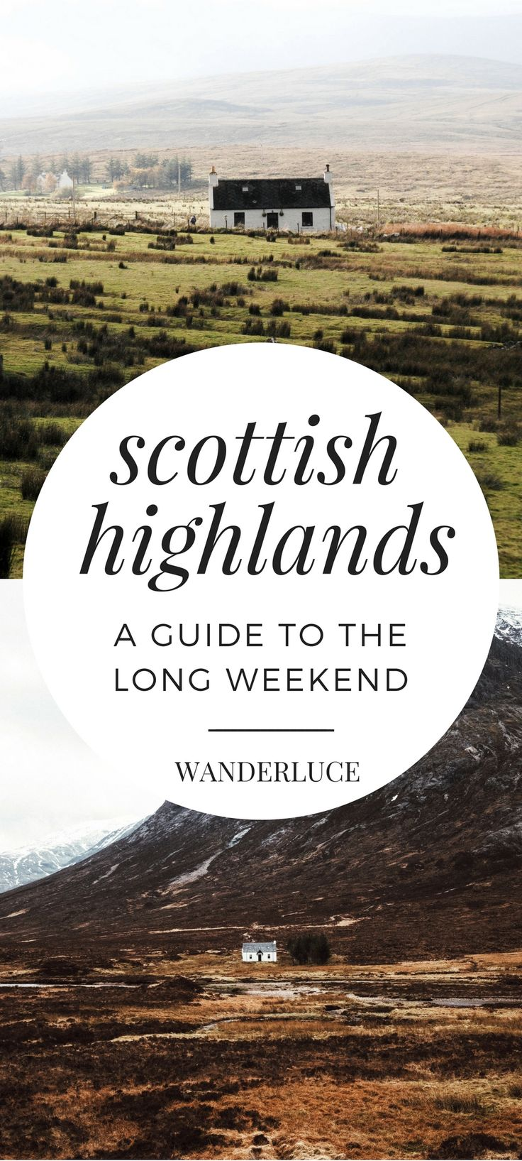 Fan of the wonderful show, Outlander? You have to visit the Scottish Highlands!
