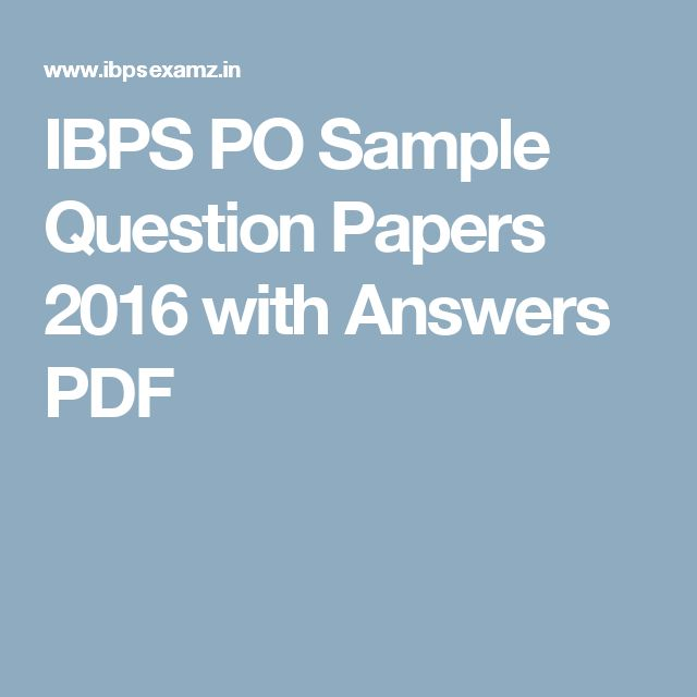 Best  Sample Question Paper Ideas Only On   Apa