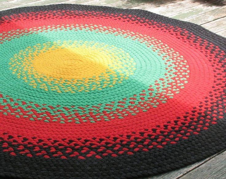 Rasta Colored Rugs