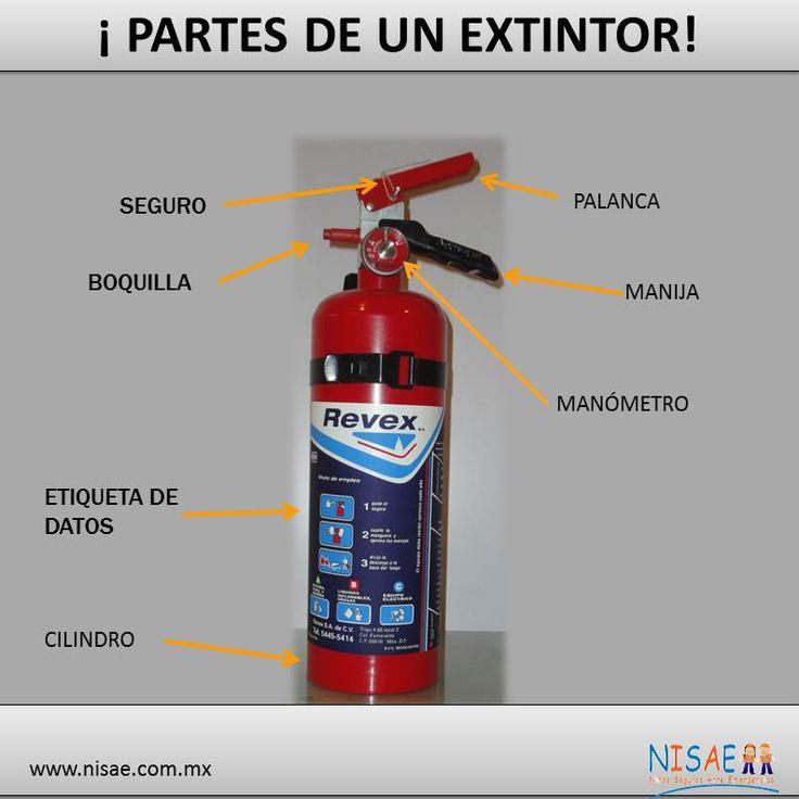 Partes el extintor pinterest extintor - Extintor para casa ...
