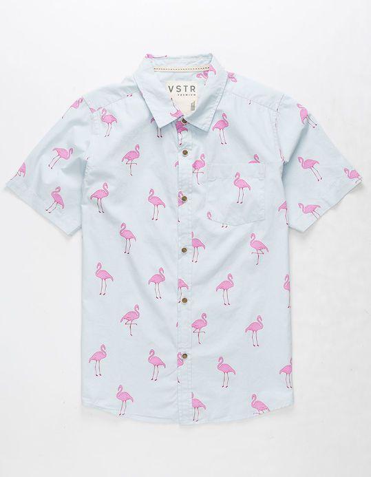 af04425d Tillys - VSTR Flamingo Boys Shirt |