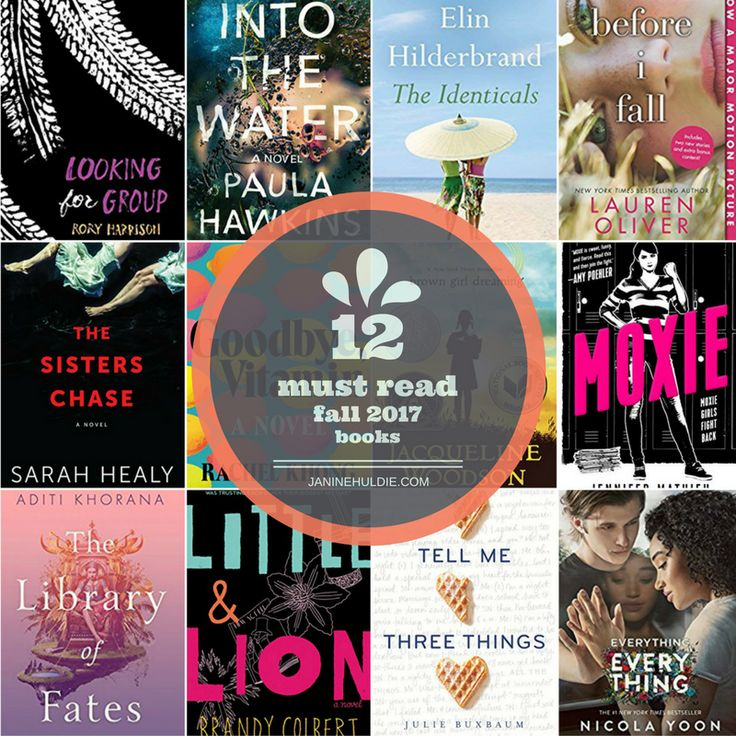 With autumn quickly approaching, what better time than now to share a list of 12 Must Read Fall 2017 Books for all to add to their reading list now.