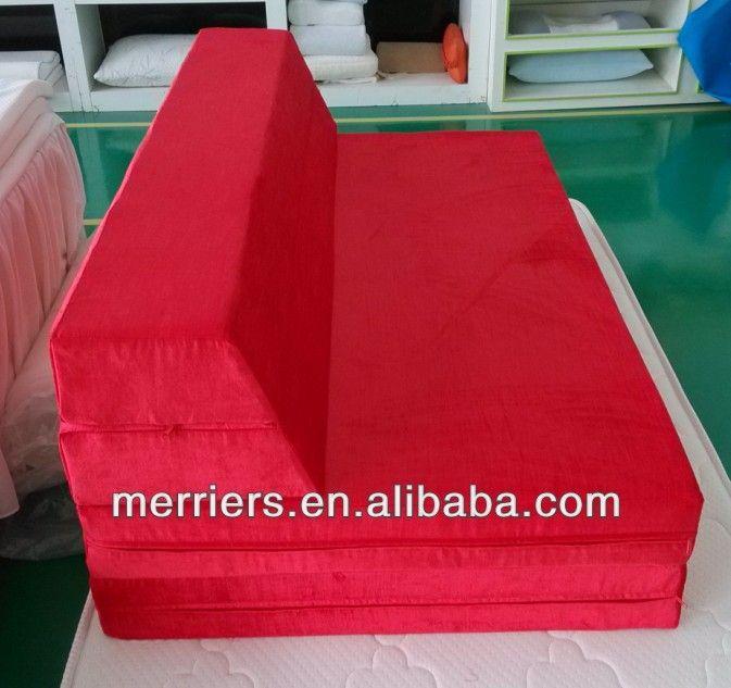 Chaise Lounge Sofa foldable foam sofa bed