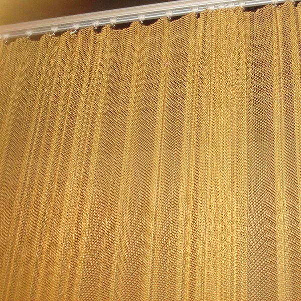 london curtains house perspective metal drapery woven creates curtain wire couturier
