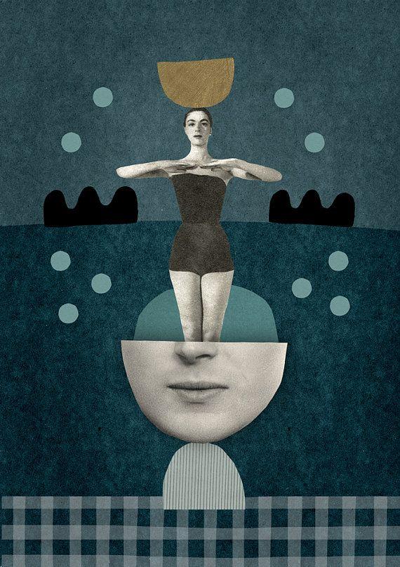 Mathilde Aubier | Super Symmetry | Digital print on 250gr paper, handsigned