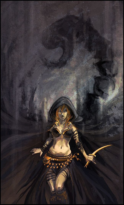Скорпион красивые девиант арт картинки