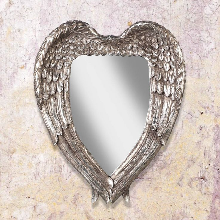 #angel #wings #romantic #mirror