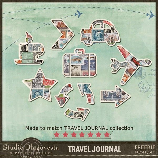 Free Travel Journal Printables from Studio Blagovesta ...