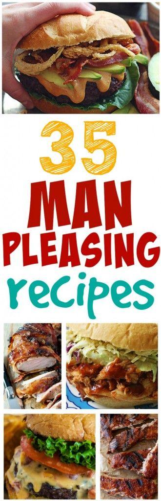Man Pleasing Meals Roundup