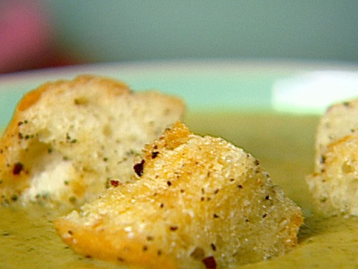 Can add garlic powder for Garlic croutons. Homemade Croutons Recipe : Food Network - FoodNetwork.com