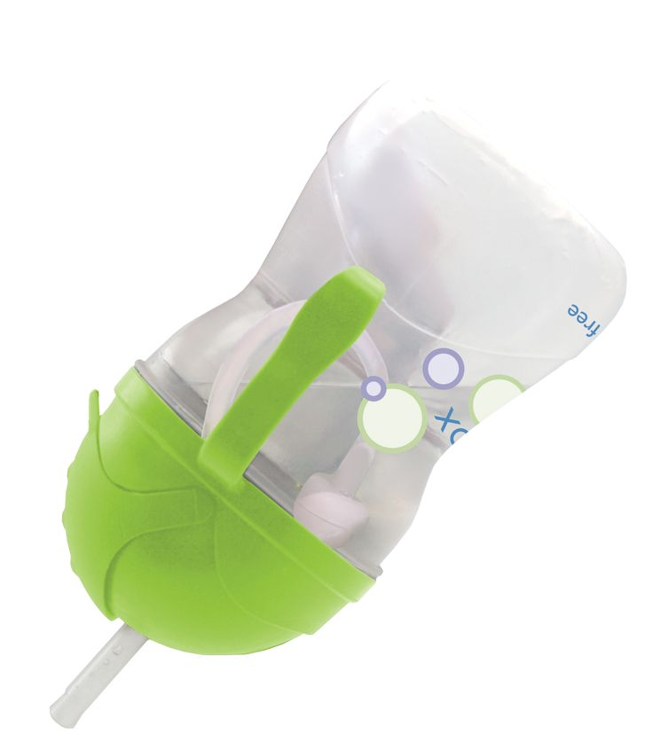 Our award winning sippy cup features our popular innovative weighted straw that lets tiny tots drink to the very last drop