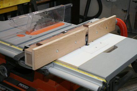 I did this on my Ridgid table saw. The wing gave some room for a melamine top and router base. I got the idea from dewalt.com.