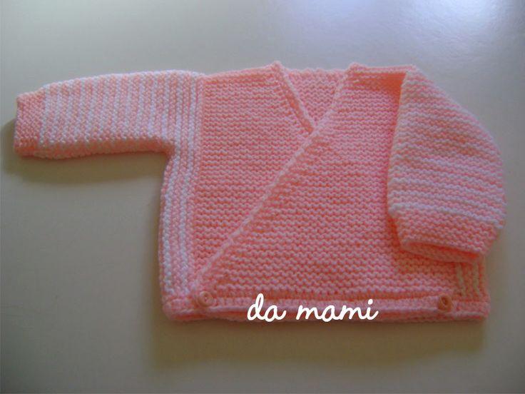 Casa da mami: receita de casaquinho de bebe em trico
