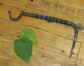 Hand Forged Plant Hook , Iron Plant Hook