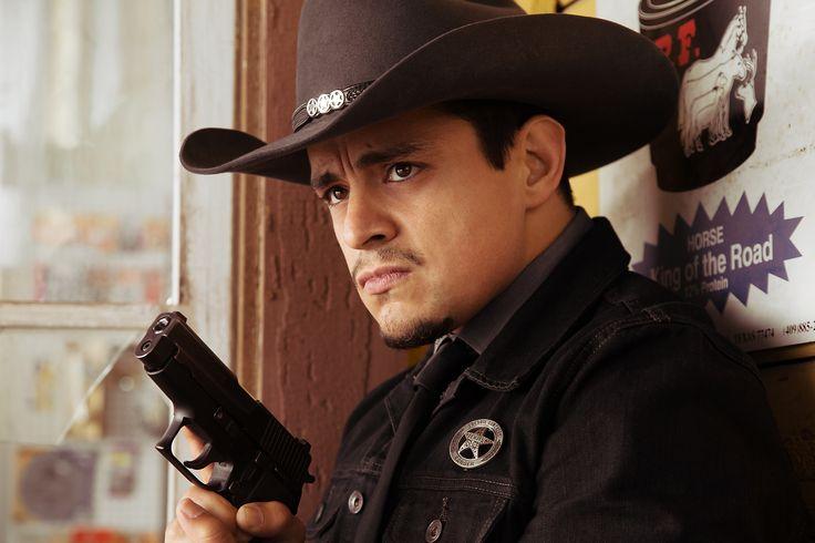 "Jesse Garcia as Ranger Freddie Gonzalez - From the El Rey Network Original ""From Dusk Till Dawn: The Series"""