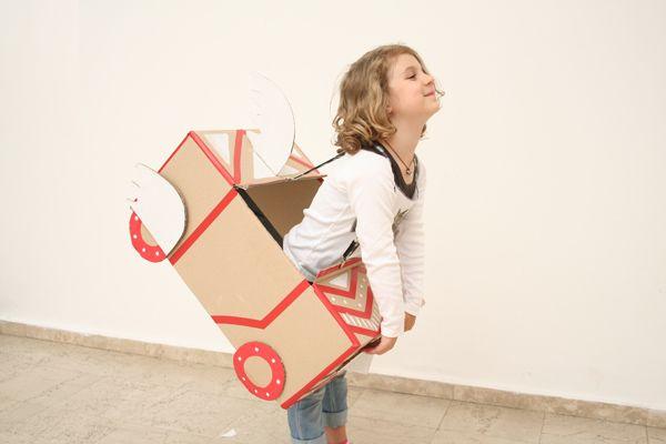 Vicky Knish's cardboard city