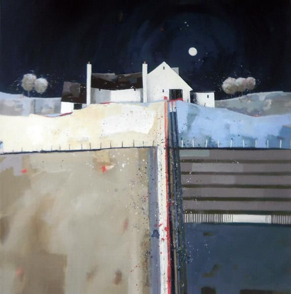 Dionne Sievewright - Moonlit Cottage