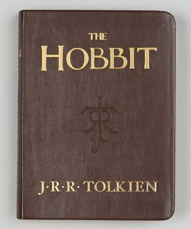 The Hobbit: Deluxe Pocket Edition<---I saw this in Barnes and Noble once. It was made of the same super thing paper with gold edging they make mini bibles out off. Nerd bible.
