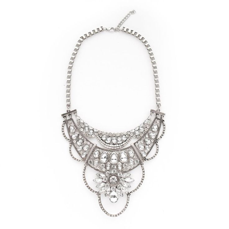 $36 Amazing statement necklace!  Would be so perfect for a holiday party!