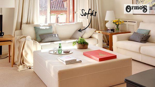 Ormo's sofás