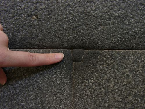 "Incan Stone Work. No Mortar. No ""Knifable"" Clefts. Every Stone Cut Differently."