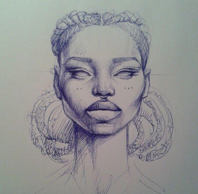 148 best sara golish images on pinterest art portfolio for Black african queen tattoos