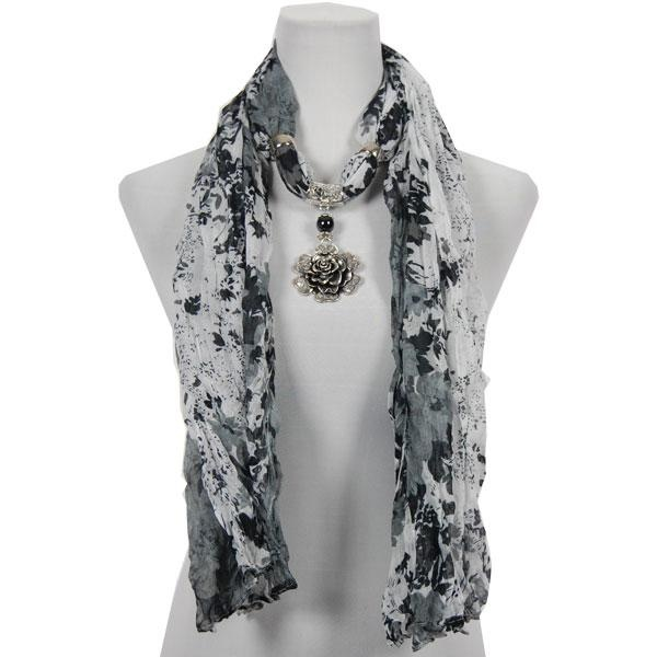 24 best scarf pendant jewelry images on pinterest retail retail crinkle floral scarf with rose pendant 22 aloadofball Images