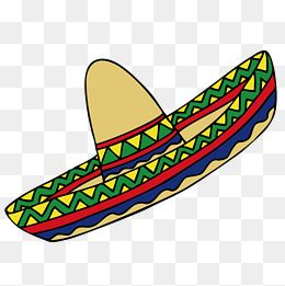 Cartoon Mexican Hat