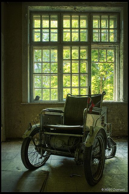 Abandoned Green Hospital, Norway -- by Martino ~ NL, via Flickr