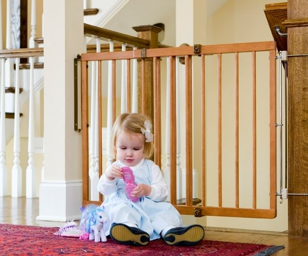 17 Best Images About Wooden Baby Gates On Pinterest