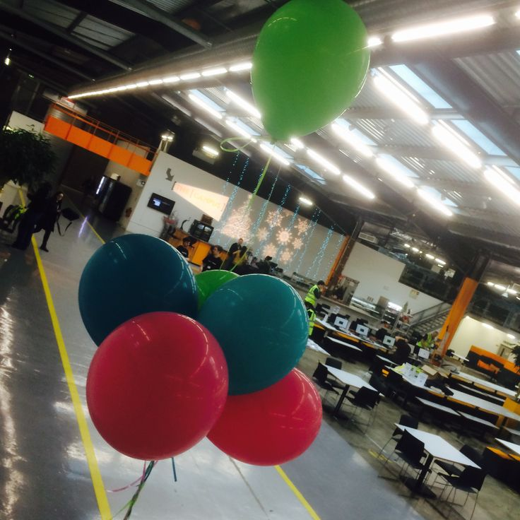 #Balloons to celebrate #mcrcoderdojo's 3rd Birthday!